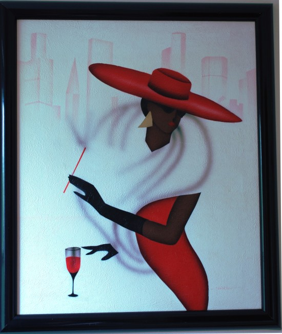 """""""Lady in Red Hat"""""""